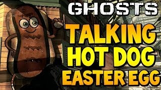 "COD Ghosts ""TALKING HOT DOG EASTER EGG"" On Strikezone"