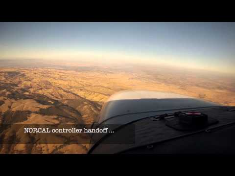 Palo Alto (KPAO) to Sacramento (KSAC) inc aircraft comms assistance