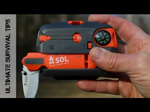 NEW - SOL Origin Survival Tool Kit - REVIEW - Best Grab & Go Survival Kit for the Masses?