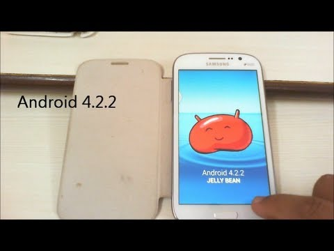 Android 4.2.2 for Galaxy Grand Duos - XXUBMF2 Jelly Bean Firmware