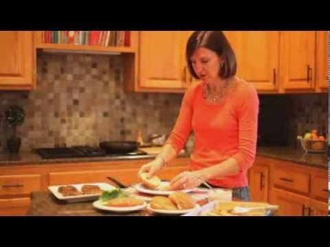 Sweet Potato and Black Bean Burgers - Cooking video and recipe by amycaseycooks