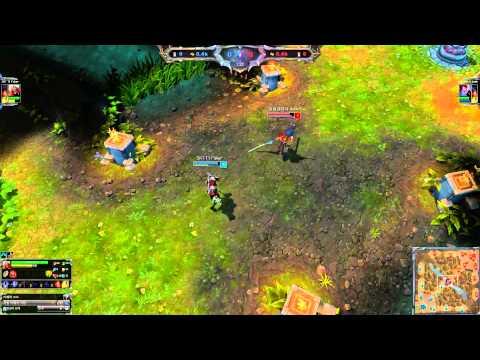 [30.6.2014] Liên Minh Huyền Thoại - Faker vs Dade [Solo Mid] ( Trận 1 )