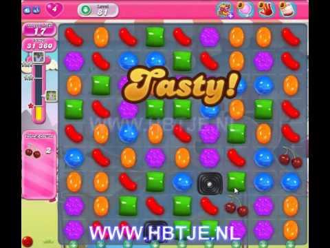 Candy Crush Saga level 81