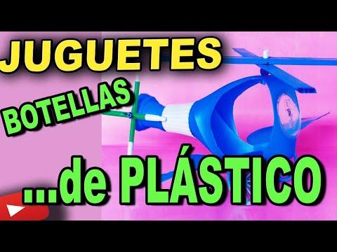 Como Hacer Juguetes Con Botellas de Plástico y Material de Desecho