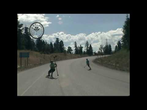 Snow Basin Canyon Road - Land Paddling
