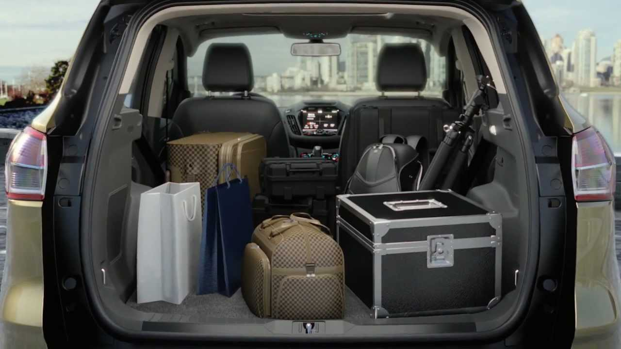 ford escape cargo space 2017 - ototrends.net