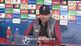 Klop: Nisam očekivao dva gola Pavkova. Atmosfera? Fudbalska, ali moglo je da se igra