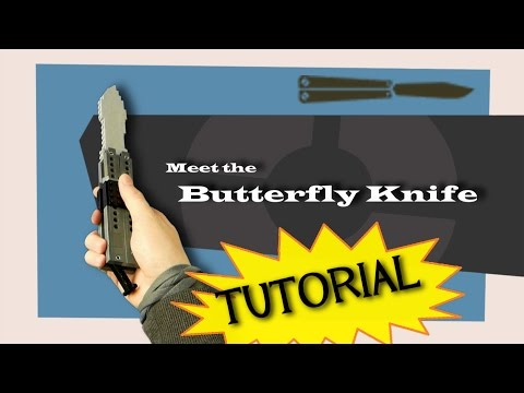 TF2 Spy's Lego Butterfly Knife - TUTORIAL