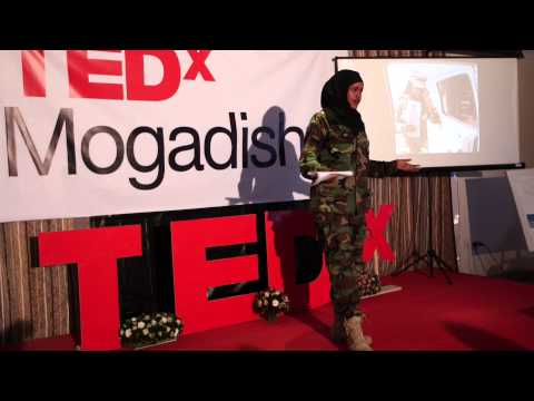 Fighting Al Shabaab as a Woman in Somalia's National Army: Iman Elman at TEDxMogadishu