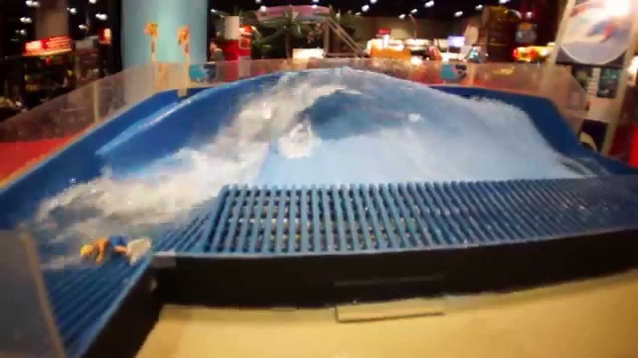 how much is a flowrider machine