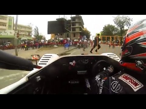 Daniel Vidal Big Crash @ 2013 Radicals Angola