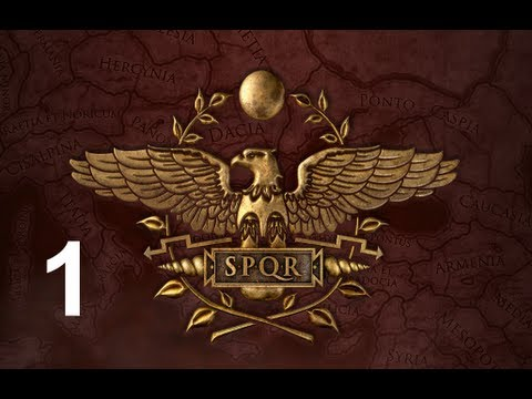 Rome 2 Total War Let's Play Roman Campaign Playthrough Part 1