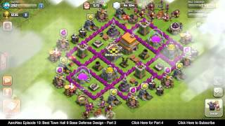 BEST Town Hall Level 6 (TH6) Base Defense Design Layout