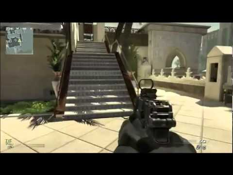 MW3 New DLC Maps - New Oasis Glitch - On Roof Survival Spot