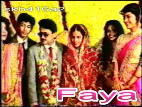 Juhi Chawla Candid @ Bollywood Wedding (Very Rare - Early 1990s)