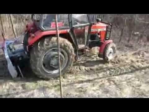 Zrywka Drewna Test wciągarki oraz pokaz innych sprzętów (lkt zetor mtz ursus c360 3512 )