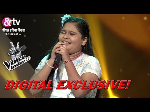 Sneha Shankar Performs On Tu Kitni Achhi Hai | Sneak Peek | The Voice India Kids - Season 2