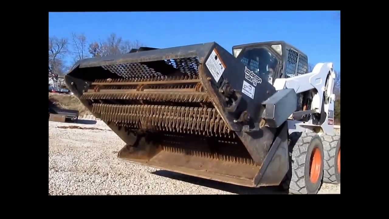 Landscape Rake For Bobcat : Bobcat lr b landscape rake for sale sold at auction december