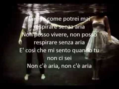 No Air - Jordin Sparks ft. Chris Brown (traduzione in italiano)