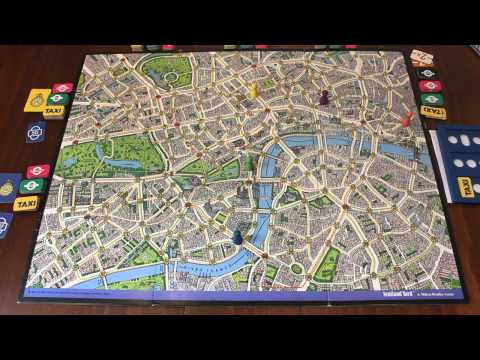 TORTUGA - Scotland Yard Turn 1 & 2