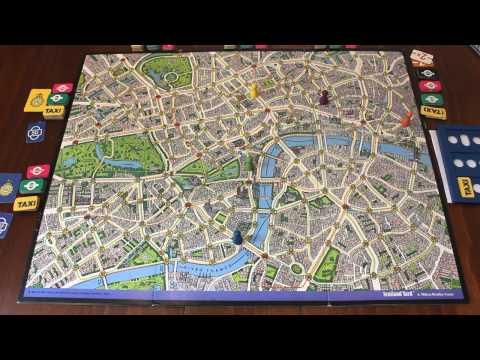 TORTUGA - Scotland Yard Turn 1 & 2