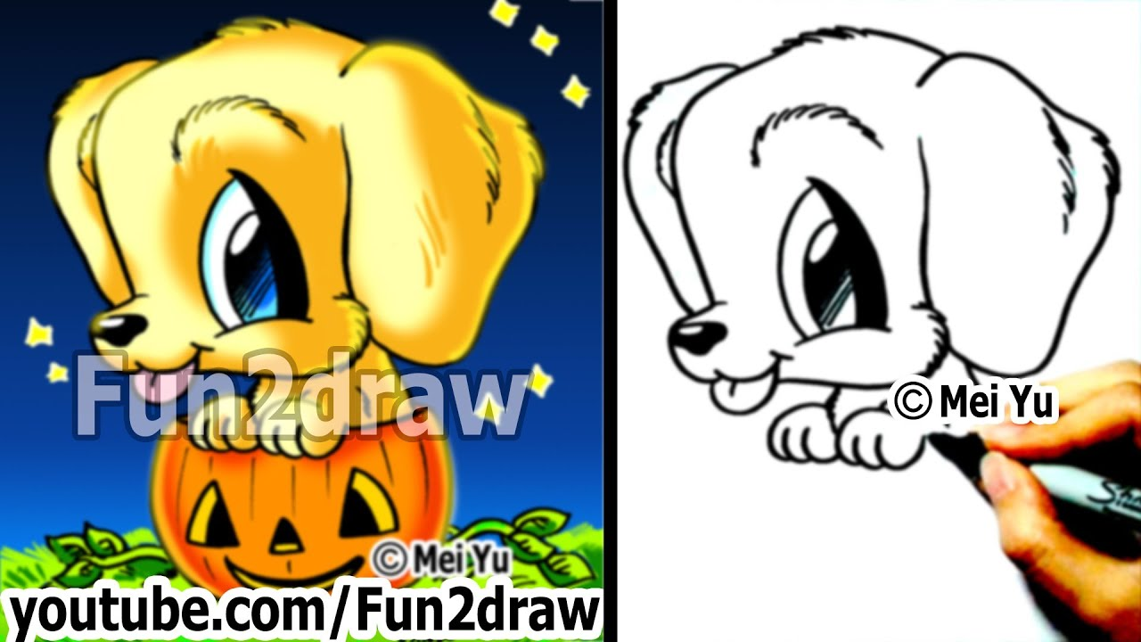 Free coloring pages of fun2draw fun food for Funny pumpkin drawings
