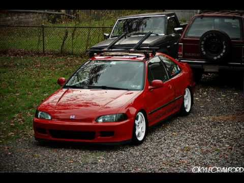 honda civic  ej ej coupe jdm usdm tribute film  youtube