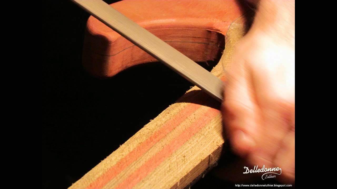 Construcci n de una guitarra el ctrica mariano for Luthier guitarra electrica