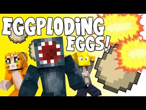 Minecraft - Crazy Craft 2.2 - Eggploding Eggs!! [60]