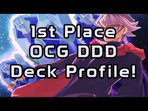Yu-Gi-Oh 1st Place DDD OCG Deck Profile May 2016!