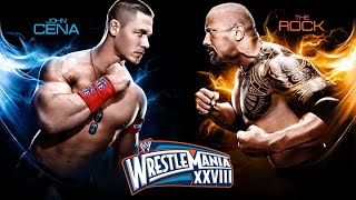 The Rock Vs John Cena Wrestlemania 28 Official Promo