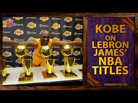 Kobe Bryant On Lebron James, Championships And 'Ridiculous' Challenge