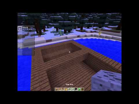 Archimedes ship mod and pixelmon episode #1 building a moving working barge in minecraft