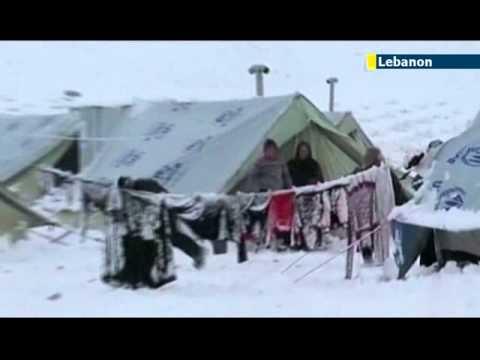 UN concern for Syrian refugees in Lebanon