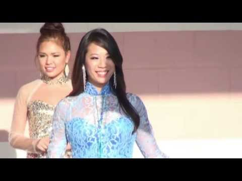 Miss Vietnam Ao Dai Fashion Show - Asian Cultural Festival 2013