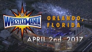 Wrestlemania 33 Dream MatchCard HD