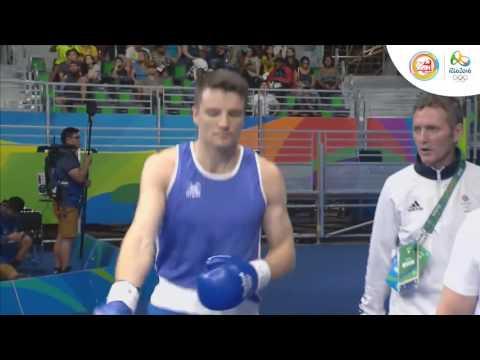 Quyền anh nam vòng loại - Hạng cân dưới 91kg: Anh - Cuba; Hạng cân 75kg: Kazakhstan - Anh