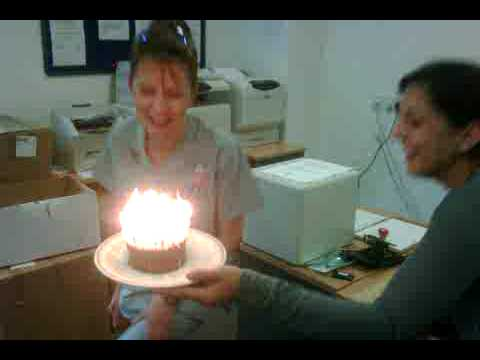 Zoes birthday cake at dds tidworth july 2009