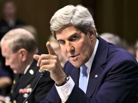 John Kerry rips into 'Putin's Russia' over Ukraine crisis