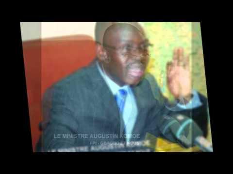 AFRIQUE2050 REFLEXIONS- INVITE LE MINISTRE AUGUSTIN KOMOE FPI - JE SUIS GBAGBO ET NOUS