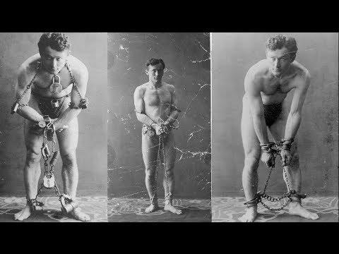 Secret Harry Houdini footage.