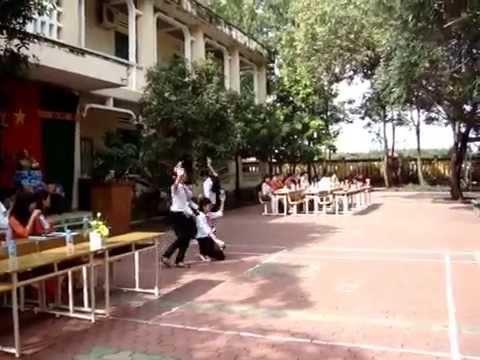 múa mái trường mến yêu học sinh 7B
