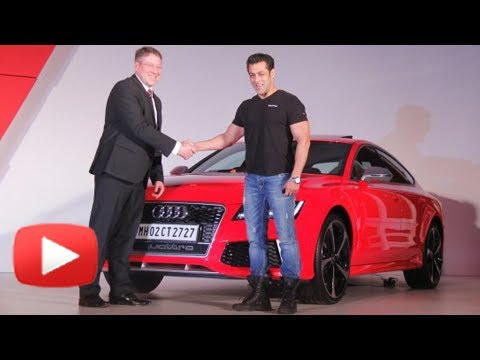 Salman Khan First Customer Of Audi RS7 Sportback In India