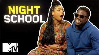Kevin Hart & Tiffany Haddish Play Try Not To Laugh | Night School | MTV Movies