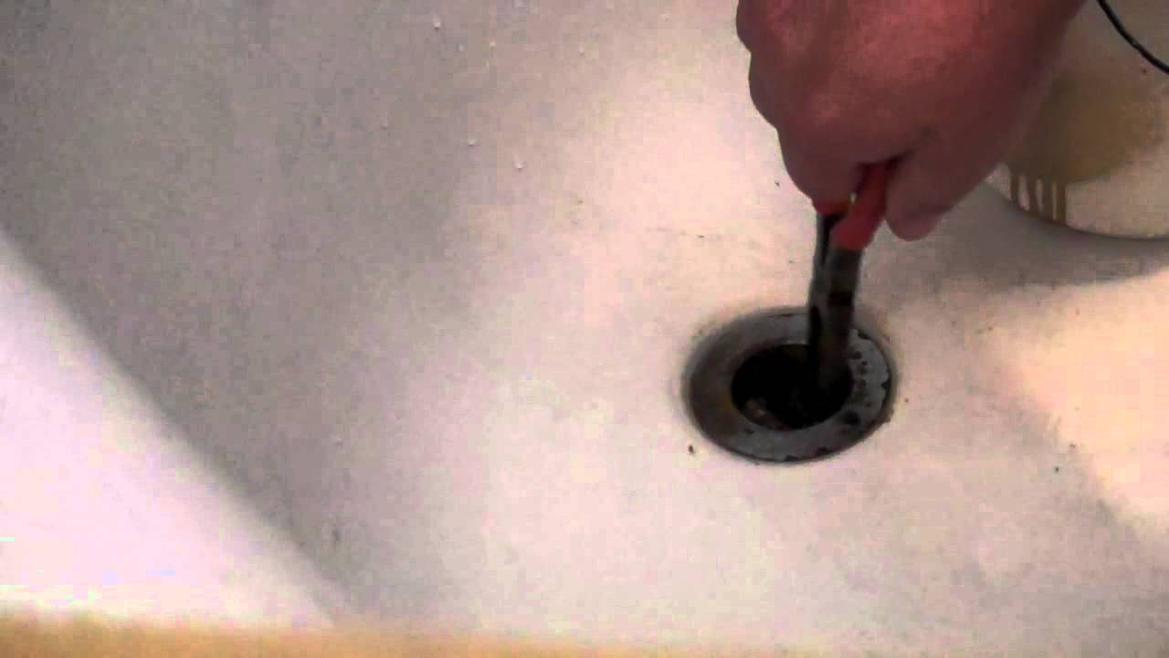 how to unclog a bathtub drain very easy you can do it youtube