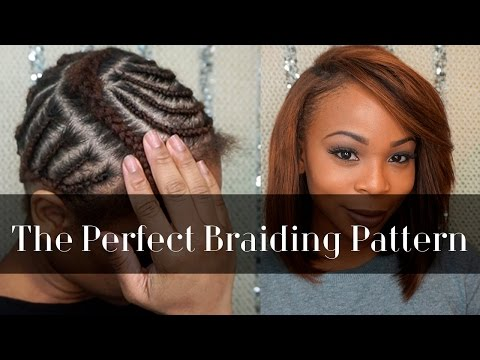 Braiding Pattern for A Side Part