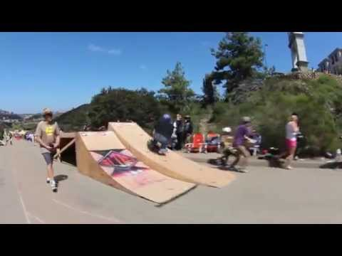 California Bonzing Skateboards: Downhill Disco 2014