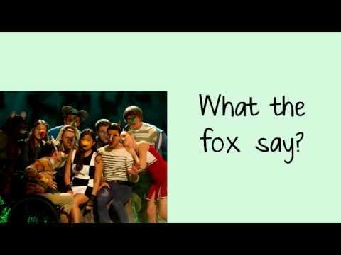 Glee - The Fox (Lyrics)