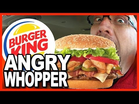 Burger King ANGRY WHOPPER Review - Time to burn your face off!