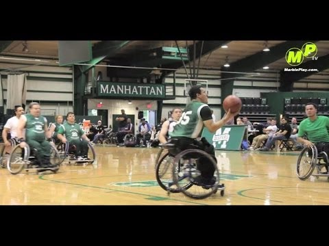 MarblePlayTV: 13th Annual Matthew Sapolin Memorial Wheel Chair Basketball Tournament